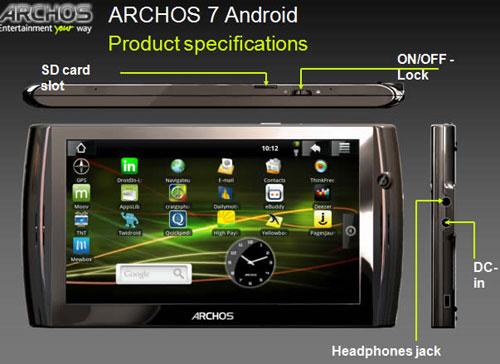 skype pour archos 70