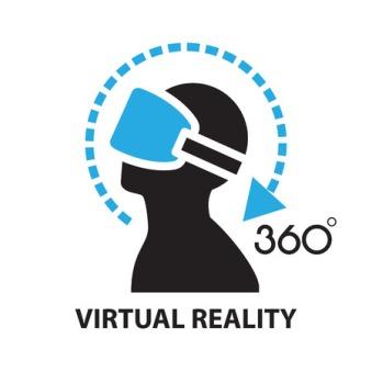 59843815 - virtual reality ,icon and symbol