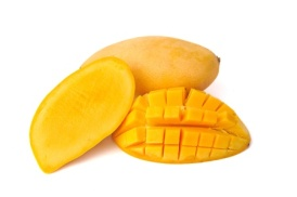 11690494 - yellow mango isolated on white background